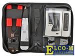 Набор инструментов 5bites TK030 (клещи LY-T210C, Krone LY-T2020, нож LY-501C, тестер LY-CT005)