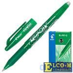 """Ручка гелевая стираемая Pilot """"Frixion"""" зеленый 0.35 мм"""