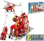 Конструктор SLUBAN Пожарный центр 631 элемент M38-B3100