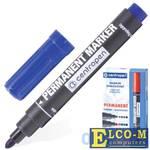 Маркер перманентный Centropen 8866/1,8566 2.5 мм синий 150063
