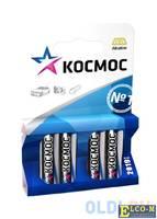 Батарейка КОСМОС LR6 AA (блистер 4шт)