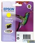 Картридж Epson Original T08044011 желтый (yellow) 520 стр.