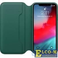 Чехол для iPhone XS Leather Folio - Forest Green (MRWY2ZM/A)