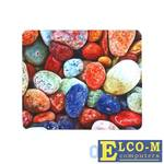 "Коврик для мыши Gembird MP-STONES, рисунок ""камни"", размеры 220x180x1мм, полиэстер+резина"