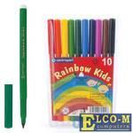 Набор фломастеров Centropen Rainbow Kids 7550/10 1 мм 10 шт 151179