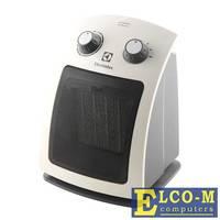 Тепловентилятор Electrolux EFH/C-5115 настольный, керамический, S-20 м, 2 ступени мощности 0.85/1.5 кВт., вентиляция без нагрева, защита от перегрева