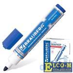 Маркер для доски BRAUBERG 150488 5 мм синий