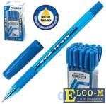 """Ручка шариковая масляная PENSAN """"My-Club"""", игольчатый узел 0,7 мм, линия 0,35 мм, резиновый упор, си"""