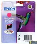 Картридж Epson Original T08034011 пурпурный (magenta) 220 стр.