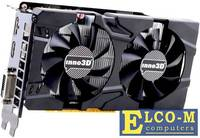 Видеокарта Inno3D GeForce GTX 1050 Twin X2 N1050-1DDV-L5OM 3GB 1392 MHz