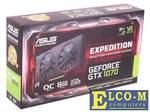Видеокарта 8Gb PCI-E ASUS EX-GTX1070-O8G