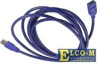Кабель удлинительный USB3.0 Am-Af 1.8m, Telecom TUS706-1.8M