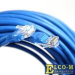 Патч-корд литой Aopen/Qust UTP кат.5е 3м синий ANP511_3M_B