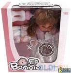 Кукла Shantou Gepai Bonnie 30 см со звуком писающая пьющая LD9908B