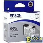 Картридж Epson C13T580700 для Epson Stylus Pro 3800 светло-черный