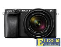 Фотоаппарат SONY ILCE-6400MB 24.2Mp, SD, SDHC, SDXC, RAW14bit, 4K, ISO32000, Wi-Fi, NFC + SEL18-135 (ILCE6400MB.CEC)