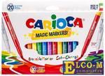 Набор фломастеров CARIOCA Magic 4 мм 20 шт 41369