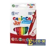 Набор фломастеров CARIOCA Joy2 40614 2.6 мм 12 шт 150107