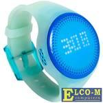 Детские часы-телефон с трекером LEXAND Kids Radar LED (цвет голубой), LED цифербрлат