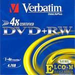 Диски DVD+RW Verbatim 4x 4.7Gb SlimCase 3шт 43636\297