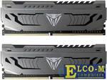 Память DDR4 16Gb 2x8GB (pc-32000) 4000MHz Patriot Viper Steel CL19 1Gx8 SR Samsing chips