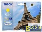 Картридж Epson C13T70244010XL желтый (yellow) 2000 стр.