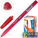 """Ручка шариковая PAPER MATE """"Inkjoy 100"""", корпус тонированный красный, узел 0,7 мм, линия 0,5 мм, кра"""