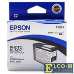 Картридж Epson T580100 для Epson Stylus Pro 3800 Photo черный 80мл