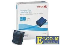 Набор твердочернильных брикетов Xerox 108R00958 для ColorQube 8870 6шт голубой 17300стр