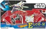 Игровой набор Hot Wheels 2 звездных корабля Star Wars Tie Fighter vs Ghost CGW90