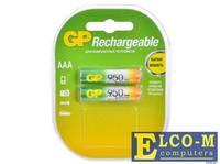 Аккумуляторы GP 2шт, AAA, 950mAh, NiMH