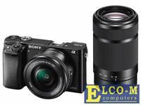 Фотоаппарат SONY ILCE-6000YS 24.7Mp, SD, SDHC, SDXC, Wi-Fi, NFC [ILCE6000YB.CEC]