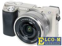 Фотоаппарат SONY ILCE-6000LS 24.7Mp, SD, SDHC, SDXC, Wi-Fi, NFC [ILCE6000LS.CEC]
