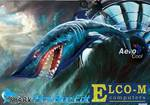 "Вентилятор Aerocool Shark 14см ""Blue Edition"""