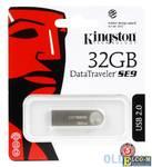 USB флешка Kingston DataTraveler DTSE9 32GB Silver (DTSE9H/32GB)