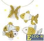 Набор для творчества Клевер Знаки Зодиака - Рыбы 07-042