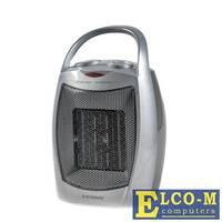 Тепловентилятор Endever Flame-12, 1.5 кВт., S-20 м, 3 режима (холодный, теплый, горячий), серебристый