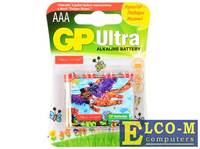 Батарейки GP 24AUGL-2CR4 Подари жизнь AAA 4 шт