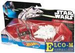 Игровой набор Mattel Star Wars: Tie Fighter vs Millennium Falcon 2 предмета CGW90