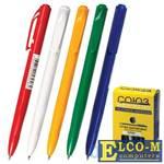 Ручка шариковая автоматическая СОЮЗ Клио синий 0.35 мм