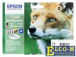 Картридж Epson Original T1285 C13T12854020 комплект 240 стр. + 3x280 стр.