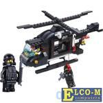 Конструктор SLUBAN Военная полиция 219 элементов M38-B1800