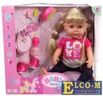 Кукла ZAPF Creation Baby born - Сестричка 43 см плачущая пьющая