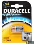 Батарейки DURACELL (123) CR123 1 шт