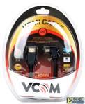 Кабель HDMI 19M/M Ver1.4 VCOM VHD6260D-3MB