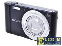"""Фотоаппарат SONY DSC-W810B Black 20Mp, 6x zoom, 2.7"""", SDXC, 720P [DSCW810B.RU3]"""