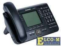 Телефон IP Panasonic KX-NT560RUB черный