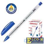 Ручка шариковая масляная ОФИСМАГ Ручка синий 0.35 мм