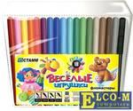 Набор фломастеров СТАММ Веселые игрушки 18 шт разноцветный ФВ05
