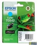 Картридж Epson Original T054240 голубой (cyan) 400 стр.